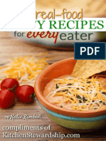 10 Real Food Party Recipes for Every Eater by Katie Kimball Kitchen Stewardship