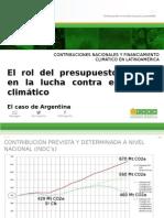 Presupuesto Público Argentina