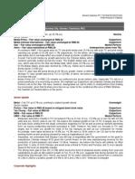 RHB Equity 360°(Media, Motor, Sunway City, Glomac; Technical