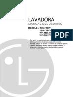 Manual Lavadora LG Fuzzy Logic Modelo T8502TEFT1