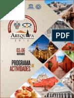 PROGRAMA XIII CONGRESO MUNDIAL DE CIUDADES PATRIMONIO