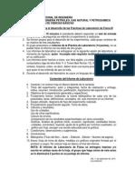 Indicaciones Para La Practica de Laboratorio FISICA III UNI-FIP 2015-2