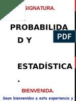 Probabilidad y Estadística - 01