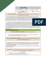 presentation lesson plan reading