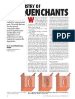 The Chemistry of oil quenchants