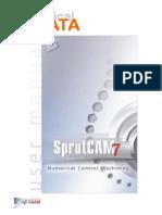 SprutCAM 2d Ejemplo de Geometria