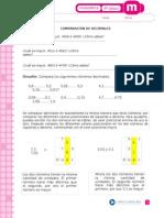 comparacion decimales