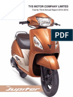 TVS Motor Company Annual Report 2014 15