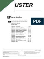MANUAL TRANSMISION DUSTER