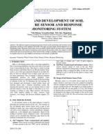 27-41-17122014 Design and Development of Soil Moisture Sensor and Response Monitoring System