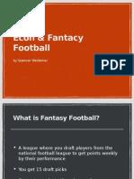 econ   fantasy football