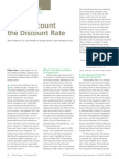 EArt-Don't Discount the Discount Rate