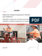 NHEWS Vibration Exposure Provision Vibration Controls Australian Workplaces July 2010