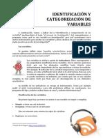 II 05 Identificacion y Categorizacion de Variables
