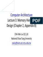 CA Lec03-Chapter 2-Appendix B-Memory Hierachy Design