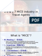 MICE in Travel Agents