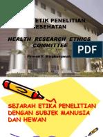 Kuliah KEPK 2015 Prof. Firman
