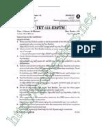 AP TET 2012 Paper I Questions & Answers pdf Download