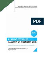 Plan de Estudios 2013