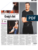 Craig Simpson, Keeping Fit, Sun Media (Jan. 25, 2010)