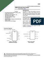 LM380. Datasheet