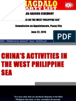UPDATE ON THE SOUTH CHINA SEA ISSUE - MAY 2015.pptx