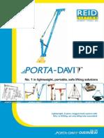 Porta Davit 500 Product Brochure