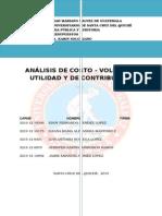 Costo - Volumen - Utilidad y de Contribución Grupo3