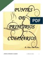 Apuntes Principios Culinarios 2014