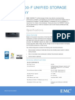 VNX Unified Specs
