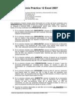 Ej Practico 12 Excel 2015