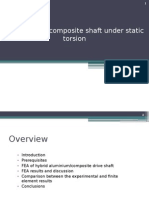 Analysis of Composite Shaft
