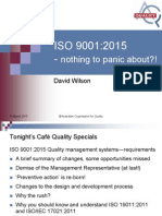 Cafe Quality ISO 9001 2015 AOQ