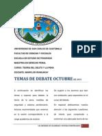 Carga Académica Octubre 2015