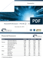 Financial Performance [Company Update]