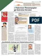 Zum Thesenpapier Francesco Palermos - Dolomiten 03.11.2015 - Artikel Stephan Pfeifhofer