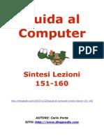Guida al Computer - Sintesi Lezioni 151-160