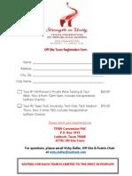 TFRW Convention Offsite Tours Registration