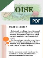 Noise 5th Sem