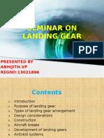 Seminar Onlanding Gear