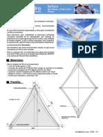 Plano Barrilete Tensaedro