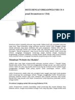 Membuat Website Dengan Dreamweaver Cs