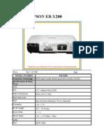 Projector EPSON EB