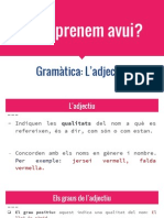 Gramàtica_ L'Adjectiu 6è B