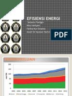 Efisiensi Energi 2015
