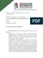 Planificación Radiotelemetria en La Investigacion Biologica