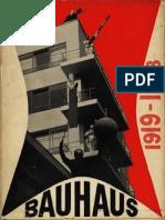 Bayer Herbert Gropius Walter Gropius Ise Eds Bauhaus 1919-1928