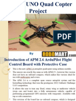 Arduino UNO Quad Copter Project Buy Robomart