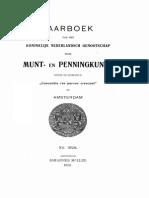 Munt- en penningverzamelaars hier te lande tot 1890 / [A.O. van Kerkwijk]