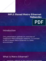 MPLS Based MetroE Networks v1